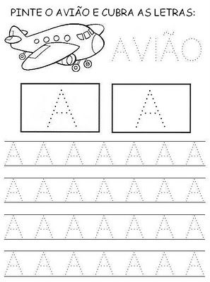 Alfabetizando Com A Tia Loys A E I O U Pontilhado Com Imagens