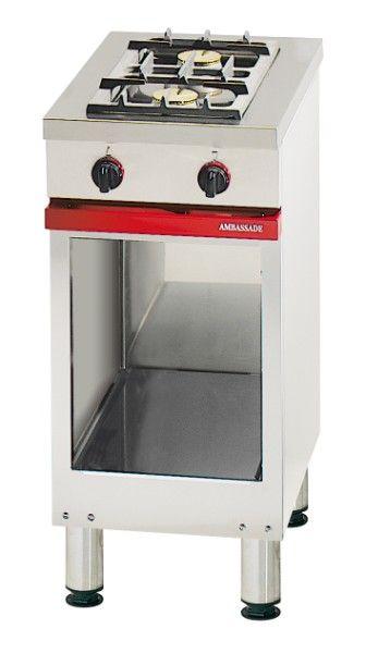cucina piano cottura con basamento 2 fuochi a gas da 4 kW Art ...