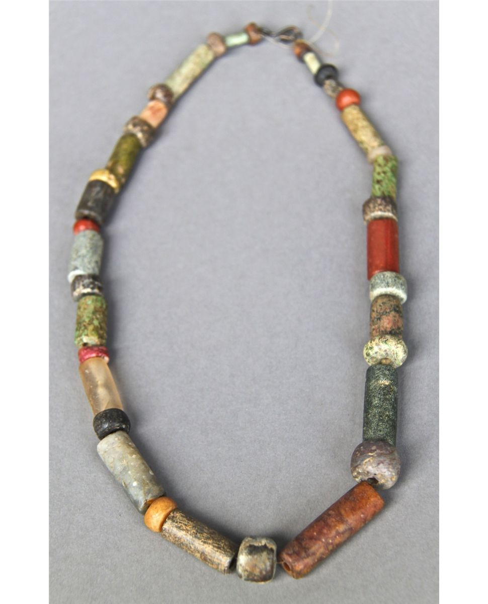 Antique Native American Indian Trade Bead Necklace Multi Color Jewelry Facts Beaded Necklace Beaded Bracelets