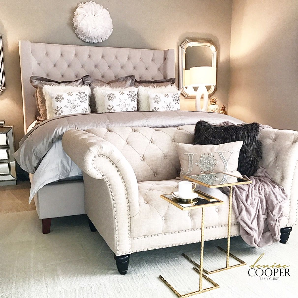 Master Bedroom Decor Ideas! Come See A Tour Over On My