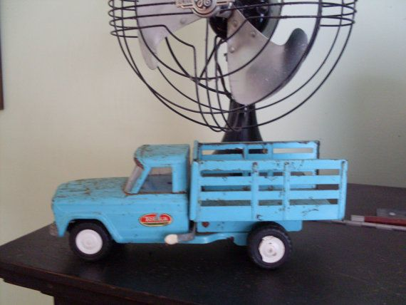 Vintage Tonka Stake Bed Dump Truck Jeep 196039s Farm