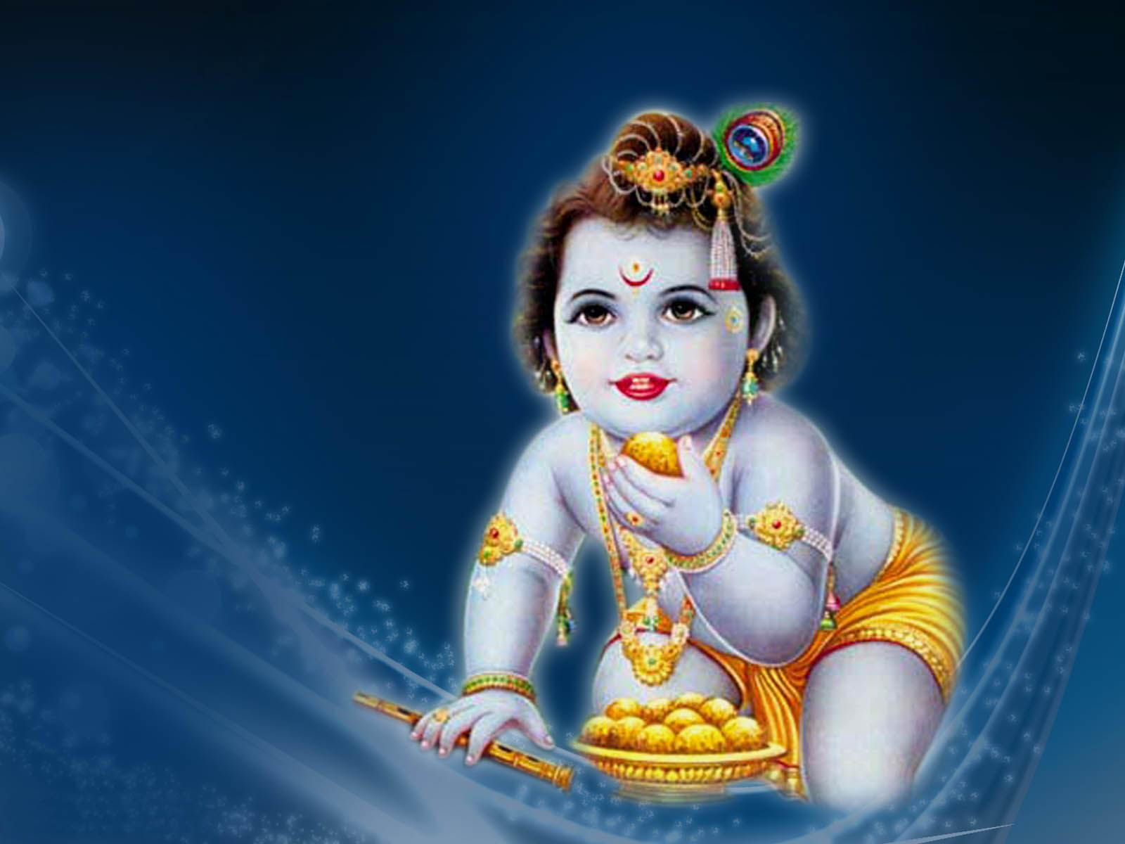 Download Krishna HD wallpaper for laptop and desktop
