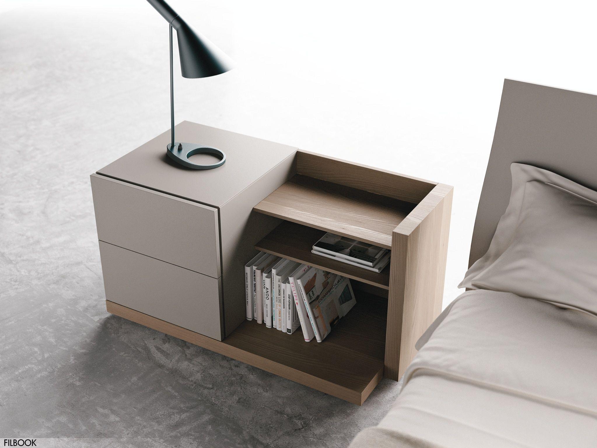 Comodino Con Libreria Filbook Comodini Camera Da Letto Idee Camera Da Letto Moderna Idee Per Interni