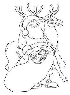 ภาพช ดฝ กระบายส ว นคร สต มาส Christmas การ ต นซานตาครอส กวางเรนเด ยร สน บสน นคนไทย Santa Coloring Pages Merry Christmas Coloring Pages Rudolph Coloring Pages