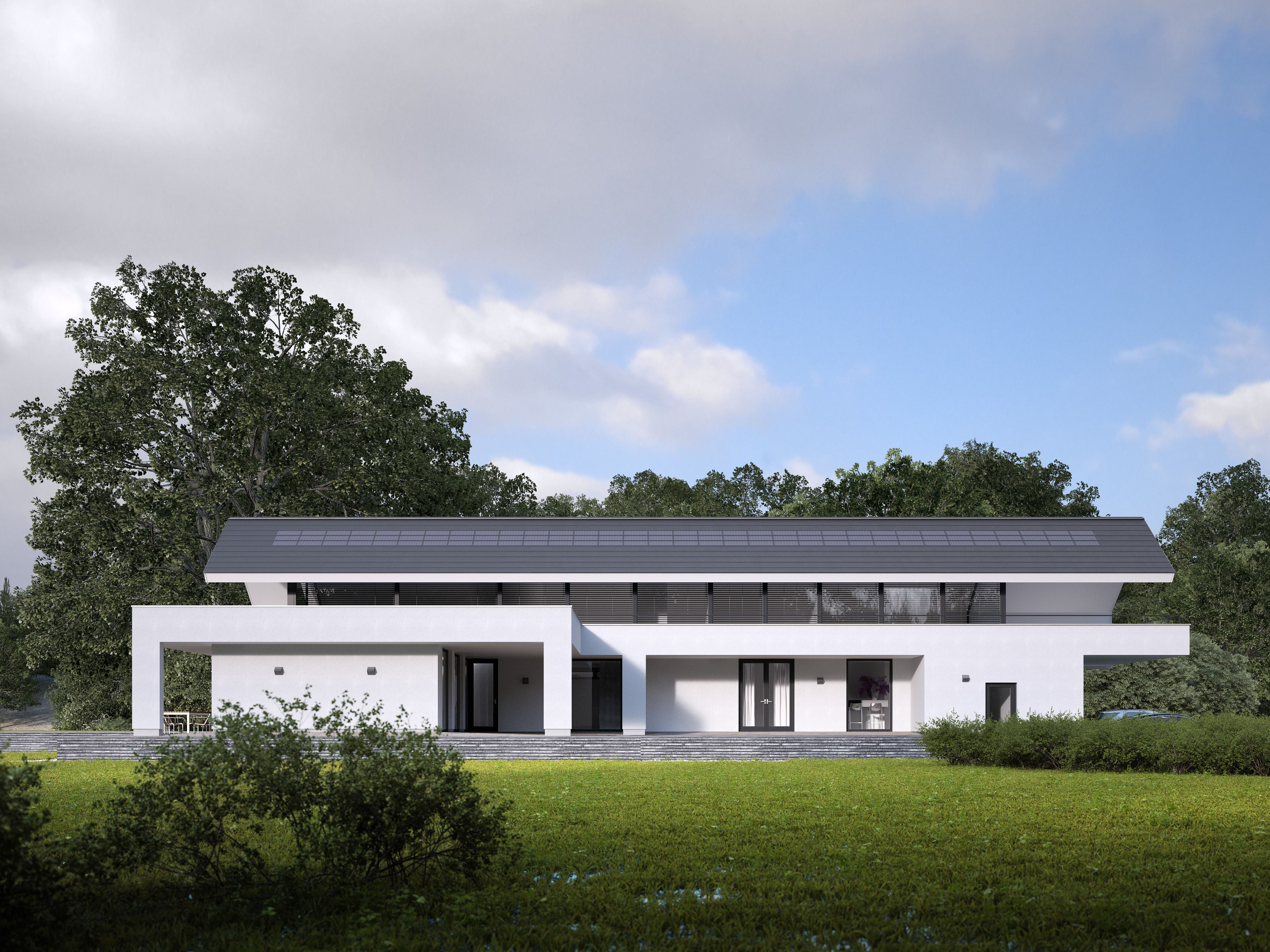 Kingston, solarpanels, solarpower, solar, zonne-energie, zonnepanelen, zonnepanelen in dakpan, modern, architecture