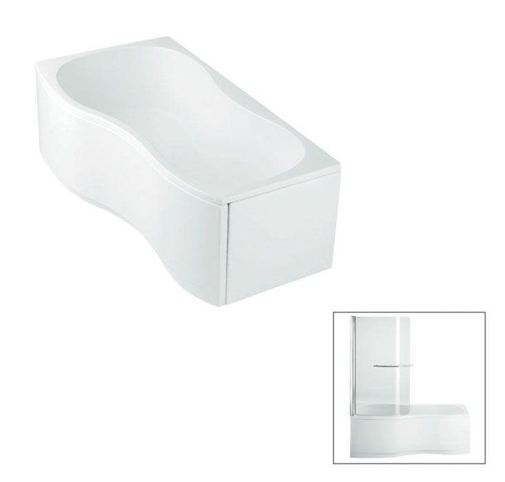 598842 Freelance 1700mm Shower Over Bath RH Baths Kohler