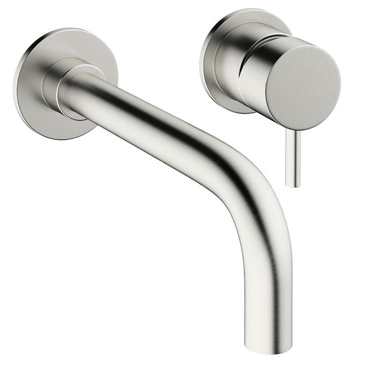 Made From Brassstunning Brushed Stainless Steel Effect Finish Ceramic Disc Technology For No Excess Dripping Or Leaks 15 Year Manufacturers Guarante Stili Bagno