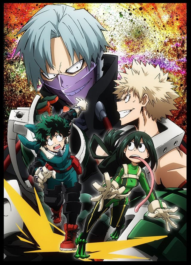 Boku No Hero Academia Apresenta Poster Training Of The Dead Ova Boku No Hero Academia My Hero Academia Hero