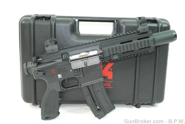HK 416 22LR PISTOL 22 9