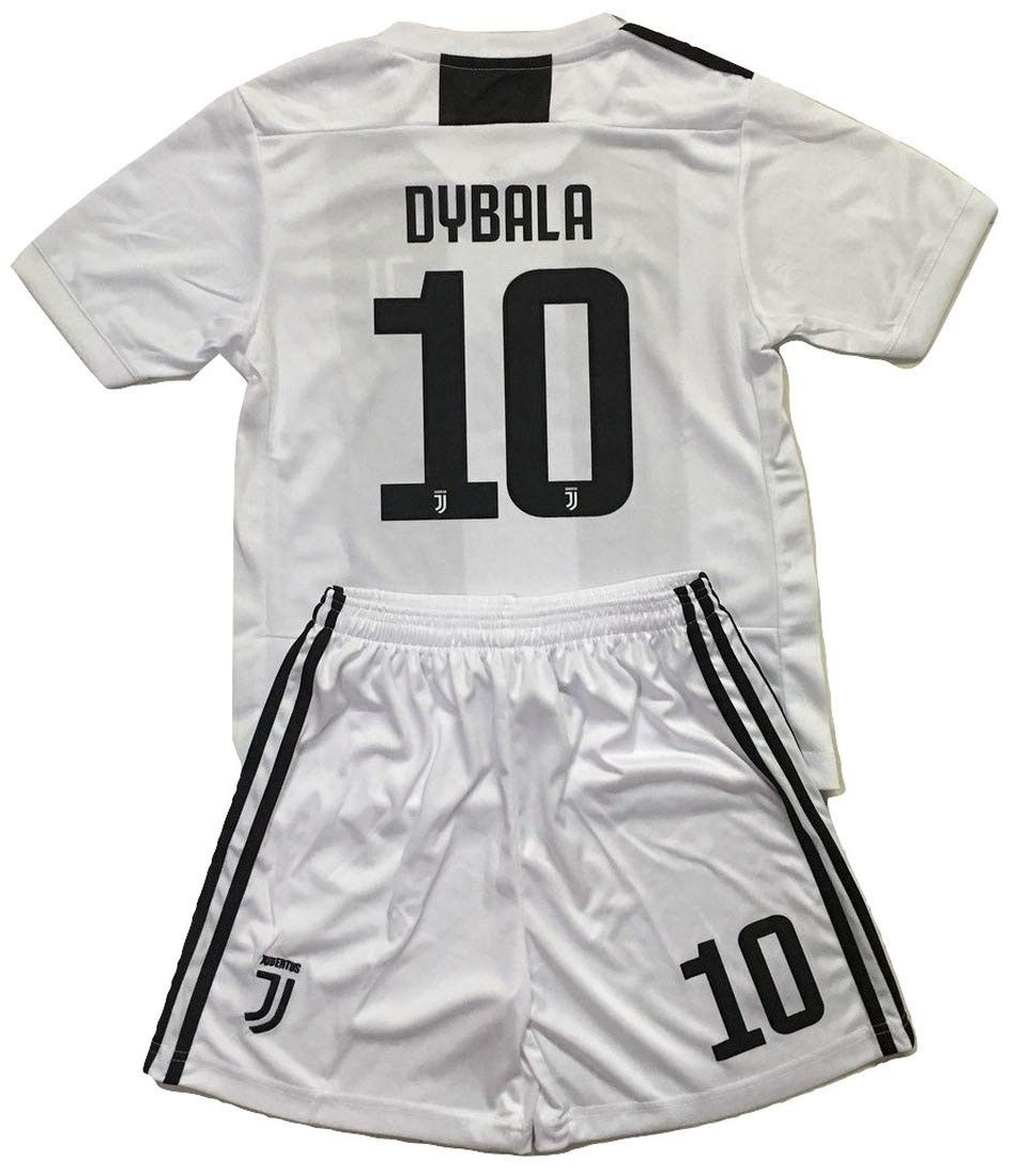 info for 1fb33 ffb32 Dybala 10 Juventus 2018-2019 Kids/Youths Home Soccer Jersey ...