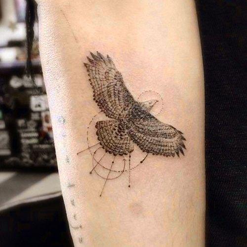 zoe-kravitz-eagle-arm-tattoo-500x500 | Tatoos | Pinterest ...