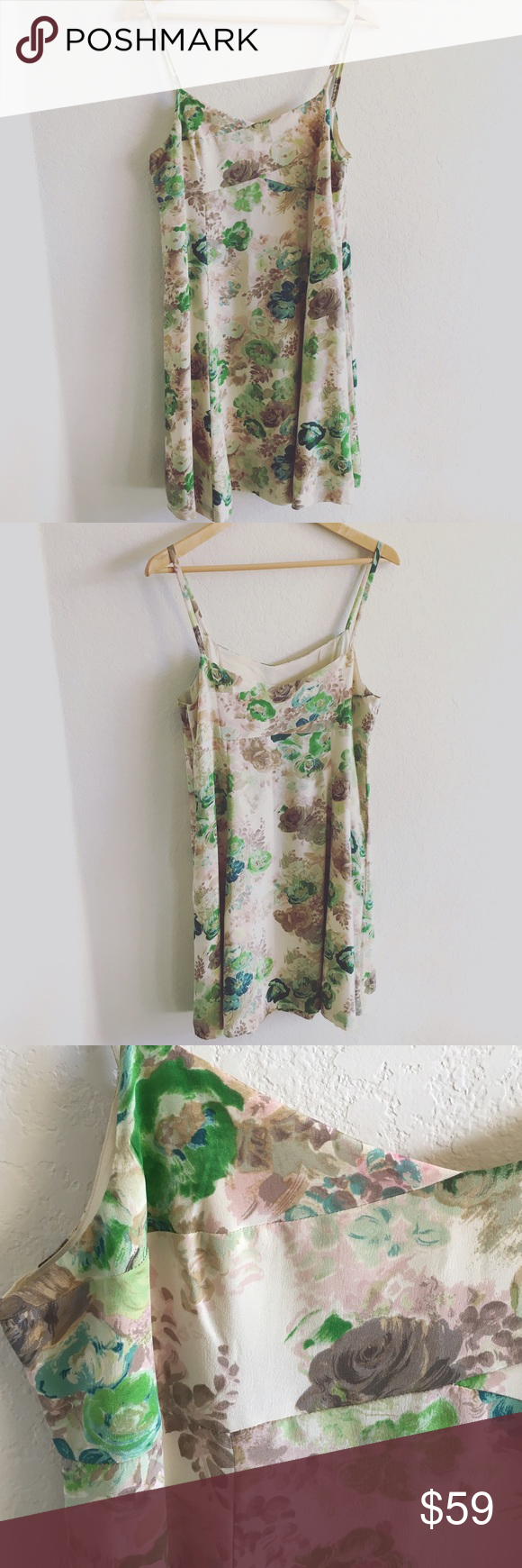Anthropologie hd in paris watered colors dress super cute and very