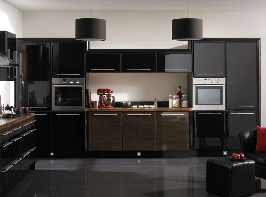 Cocinas-Modernas-en-Color-Negro.jpg (850×630)   Cocina   Pinterest ...