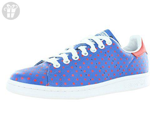 adidas uomini pw stan smith docup originali blubir / rosso / ftwwht casuale s