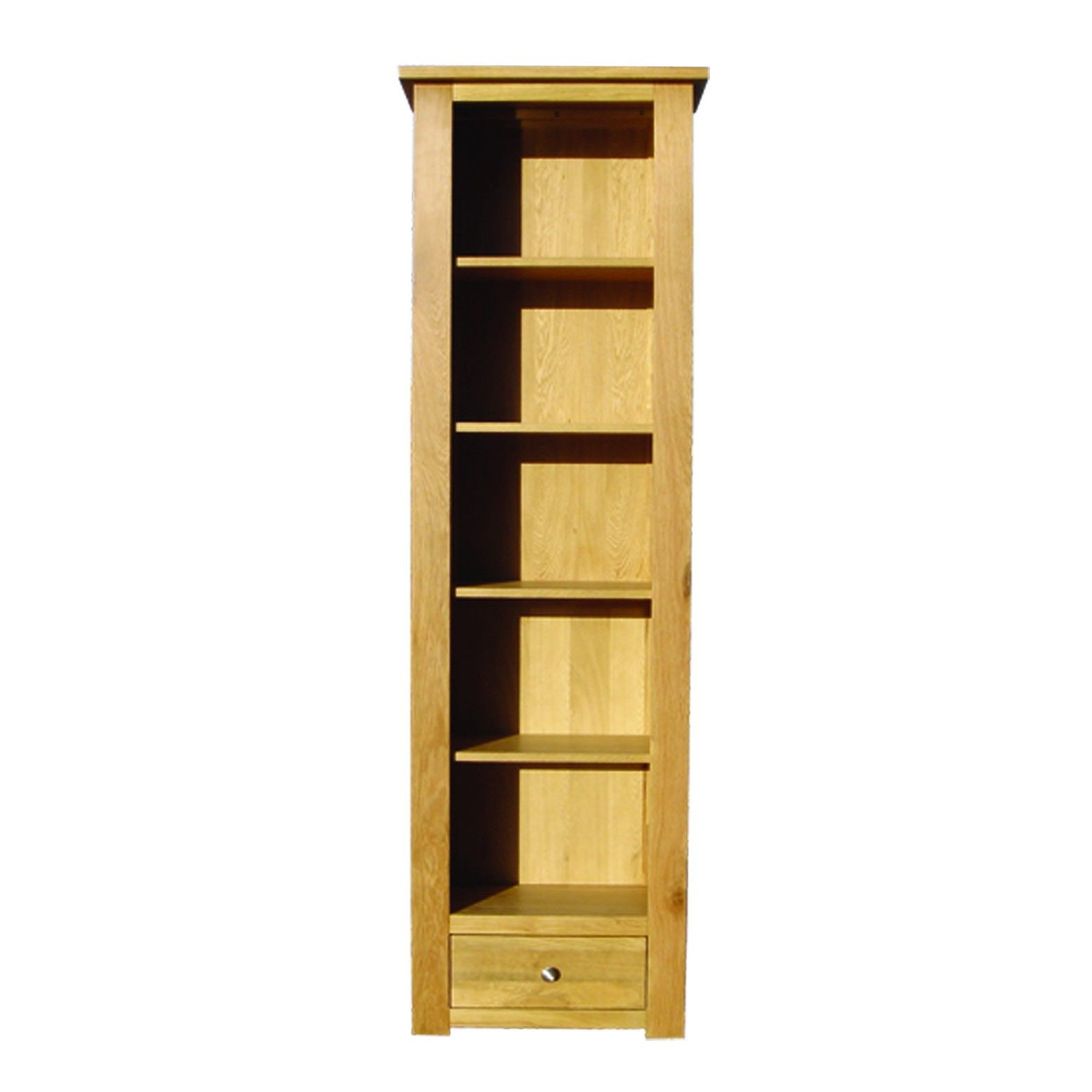 Solid Oak Bookcase Narrowsolid Oak Bookcase Narrow With