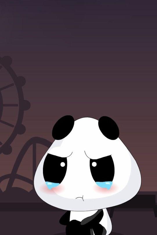 Crying Panda Cute Panda Wallpaper Cute Cartoon Wallpapers Cartoon Wallpaper Hd