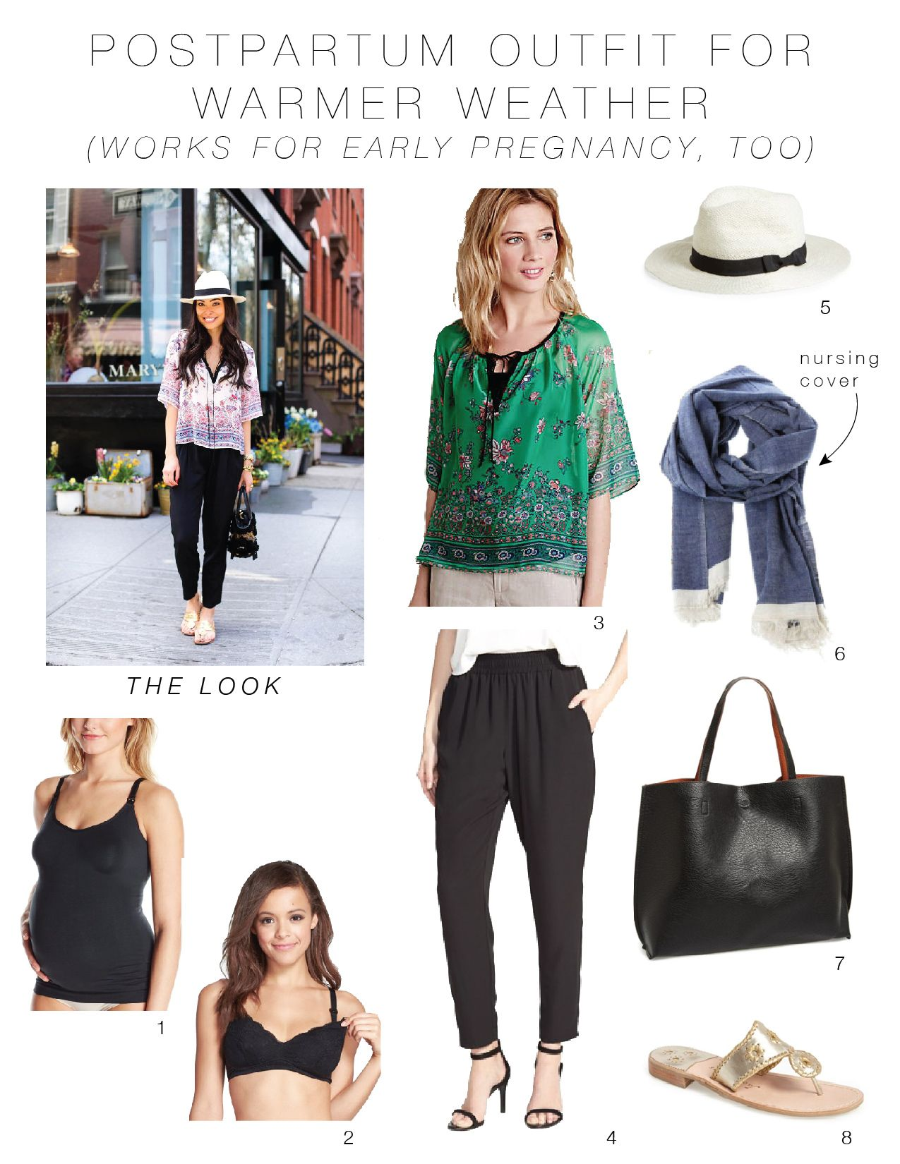 12f76e8dc9a6a I like the ideas they've put together here - an interesting and flattering  top with comfy bottoms.