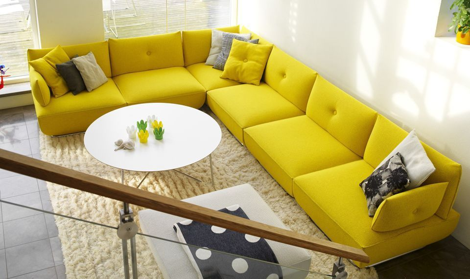 Modular Sofa / Contemporary / Fabric / Multiplace DUNDER By Stefan Borselius  Blå Station Amazing Pictures