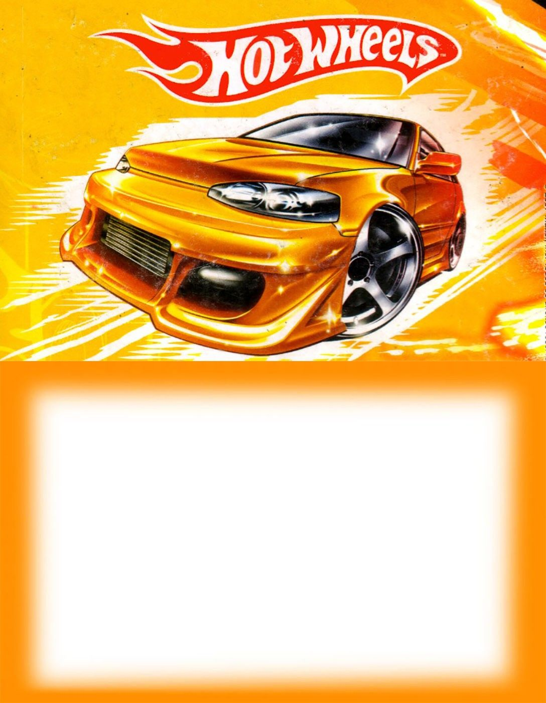 Printable Hot Wheels Party Invitation Hot Wheels In 2019 Hot