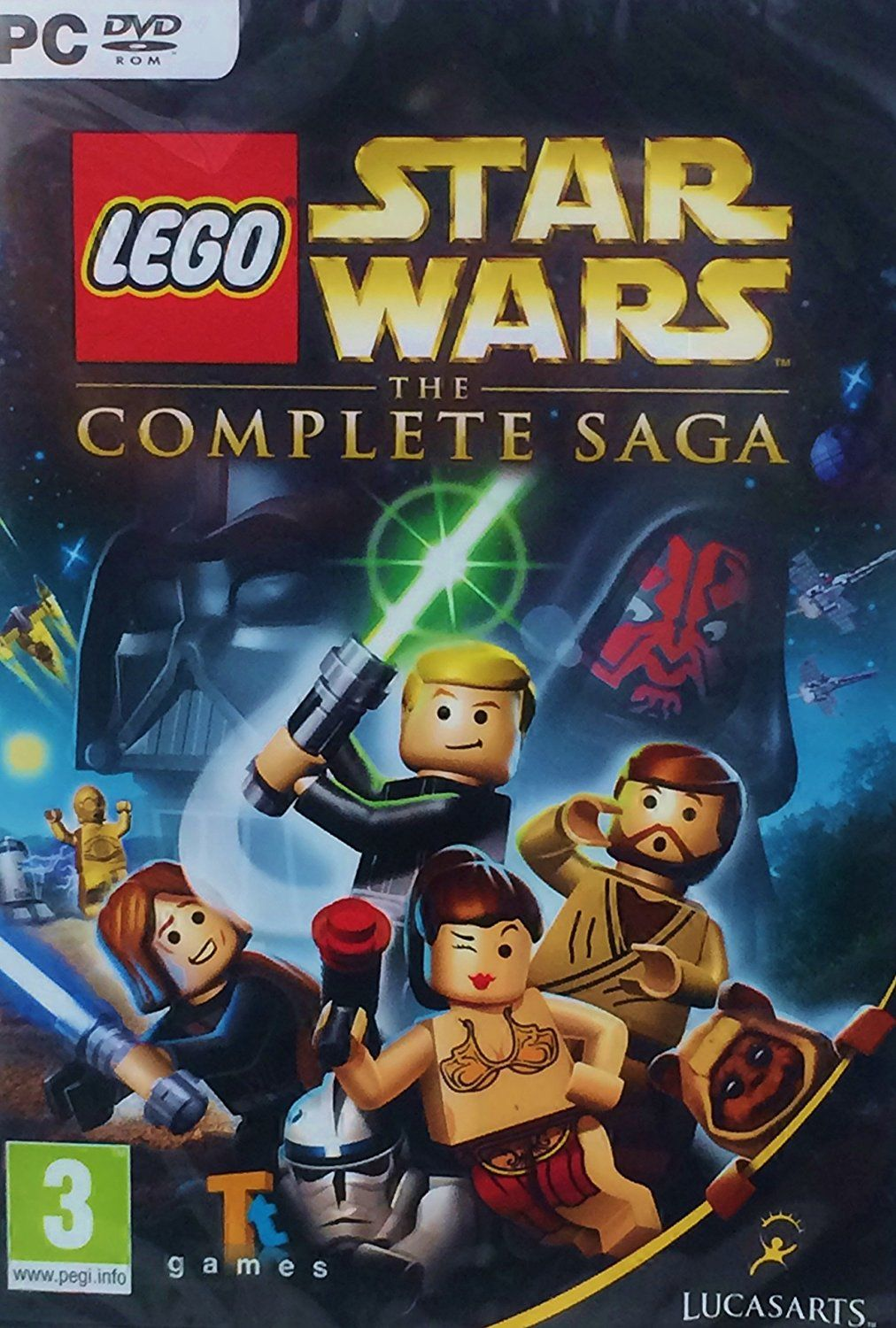 Lego Star Wars The Complete Saga Pc Dvd Amazoncouk Pc Video