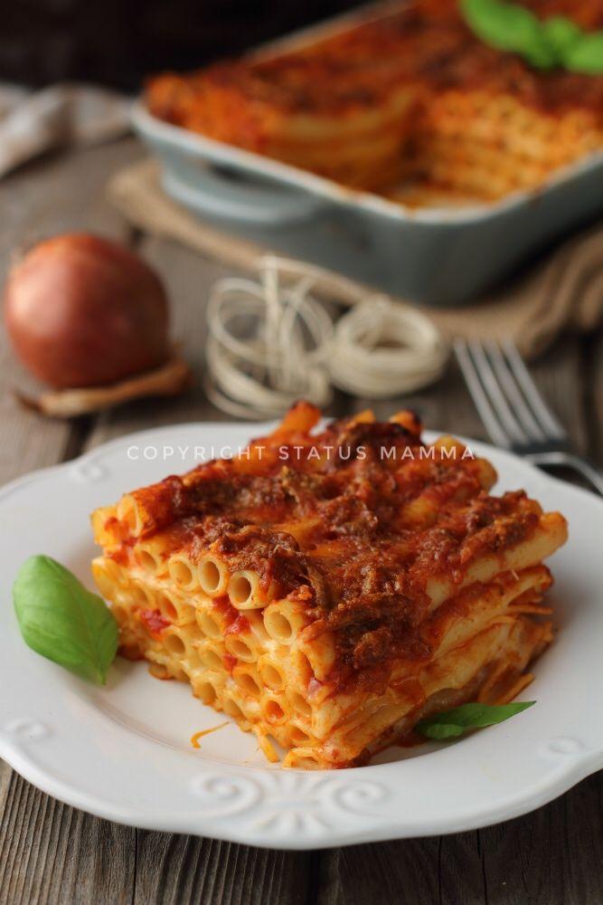 Ricetta napoletana ziti al forno con rag ricette for Ricette spagnole