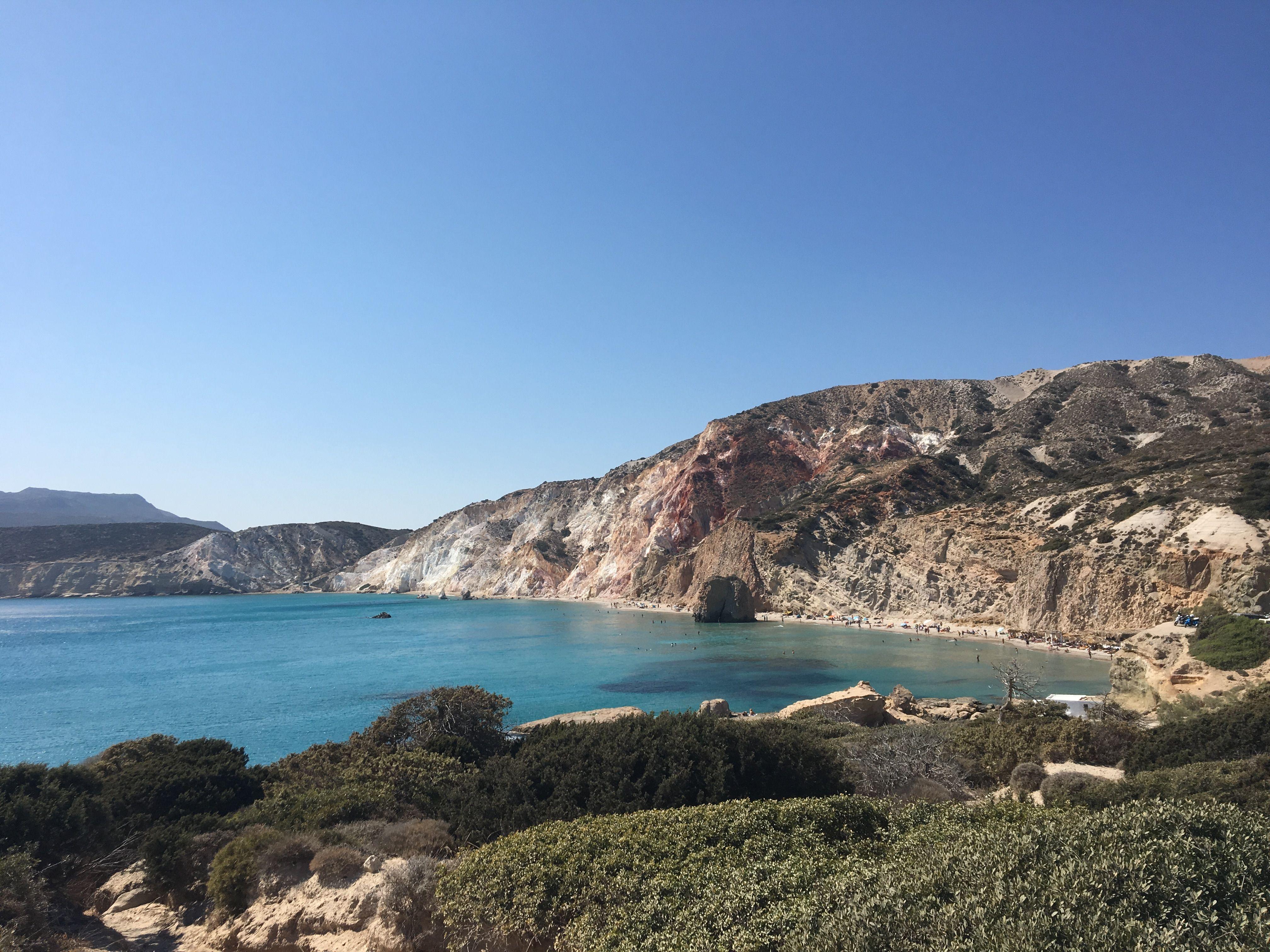 #greekislands #greektravel #bay #mountains