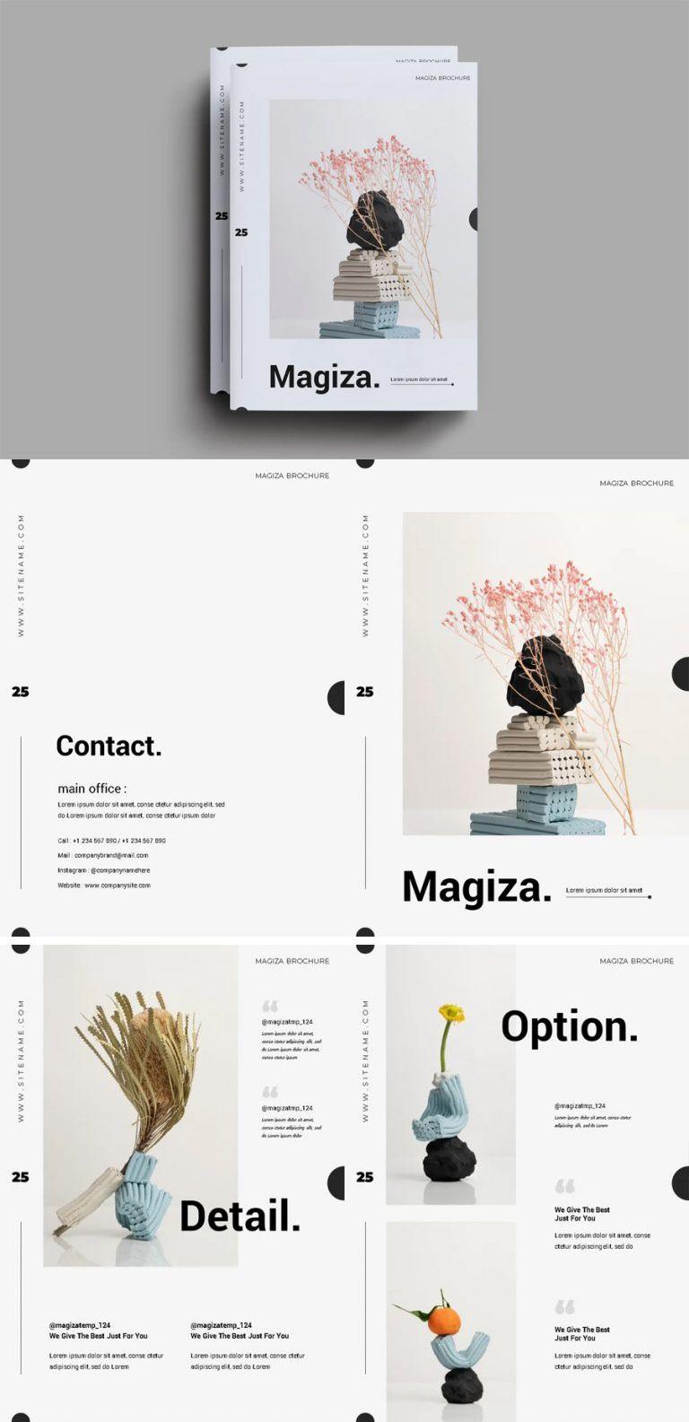Simple Catalog Layout Design