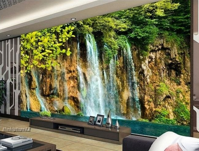 Home 3d wallpaper bedroom mural roll modern forest for Modern 3d wallpaper for bedroom