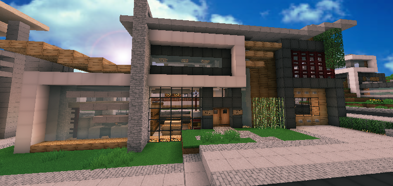 Architecture Houses Minecraft contemporary modern house (minecraft)andrewvtw.deviantart