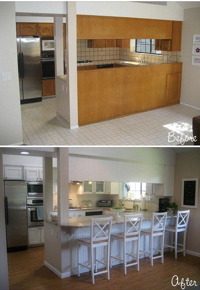 Antes y después de reforma de cocinas | ANTES-DESPUES | Pinterest ...