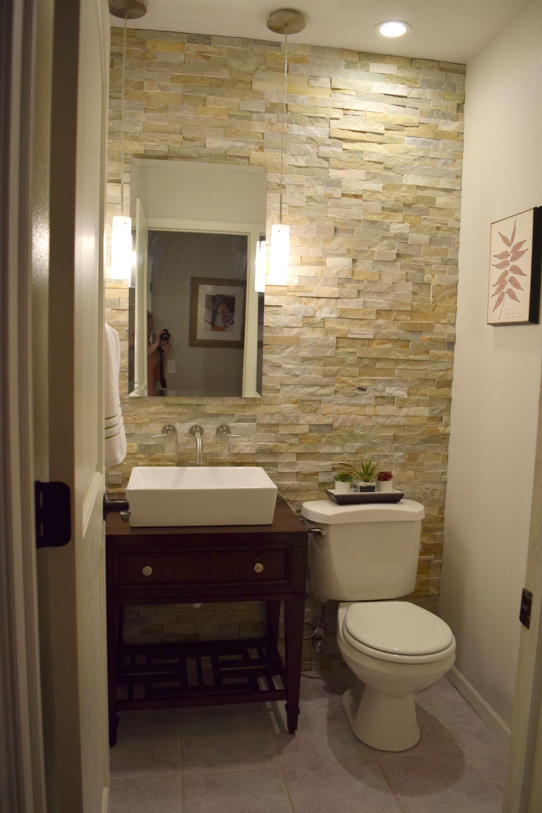 26 Half Bathroom Ideas and Design For Upgrade Your House | Baum und ...