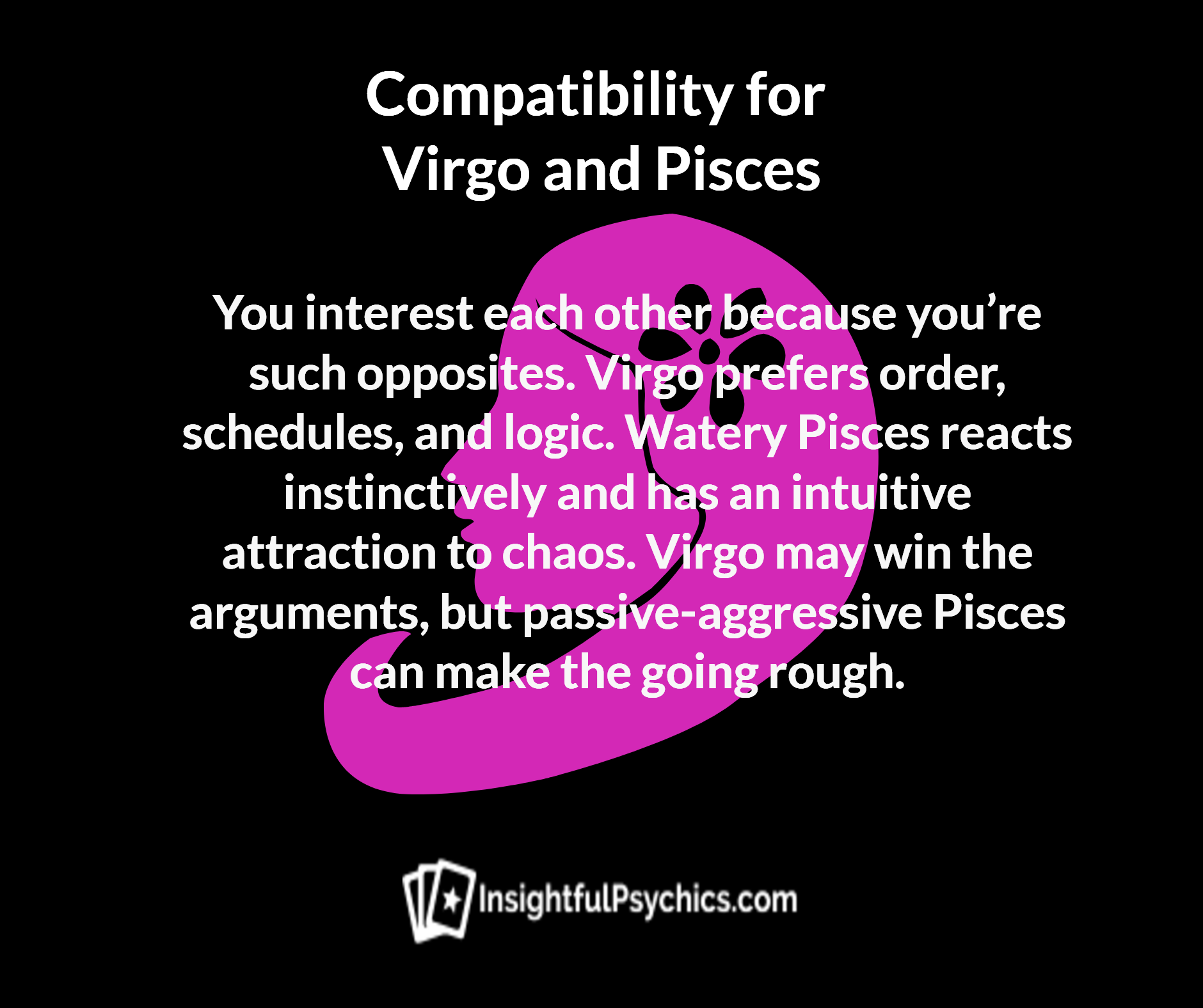 Is Virgo and Pisces compatible? 88