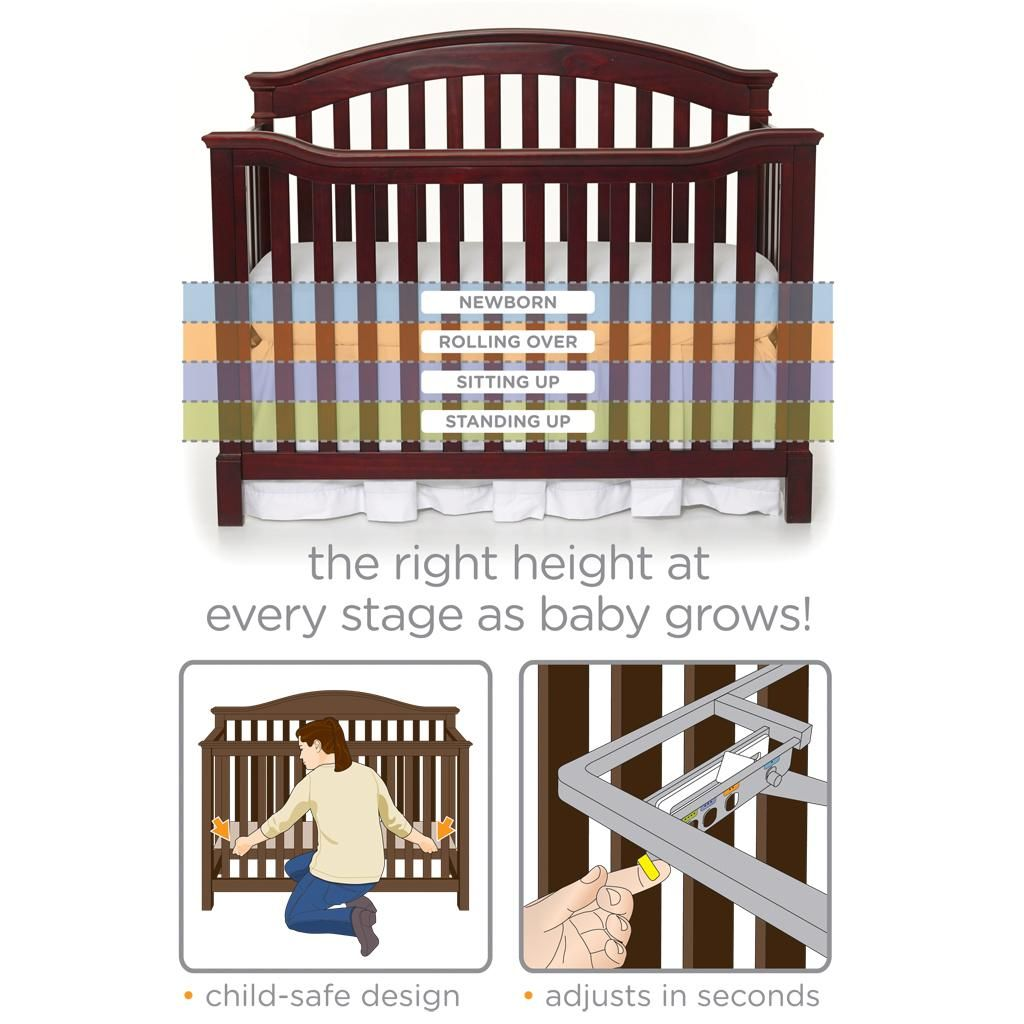 Robot Check Cribs Summer Baby Convertible Crib