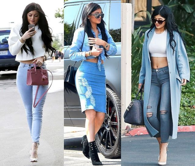 look kylie jenner