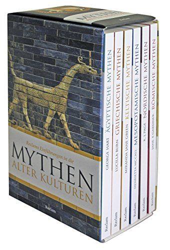 Reclams Einfhrungen in die Mythen alter Kulturen 6 Taschenbcher in Kassette Reclam Taschenbuch