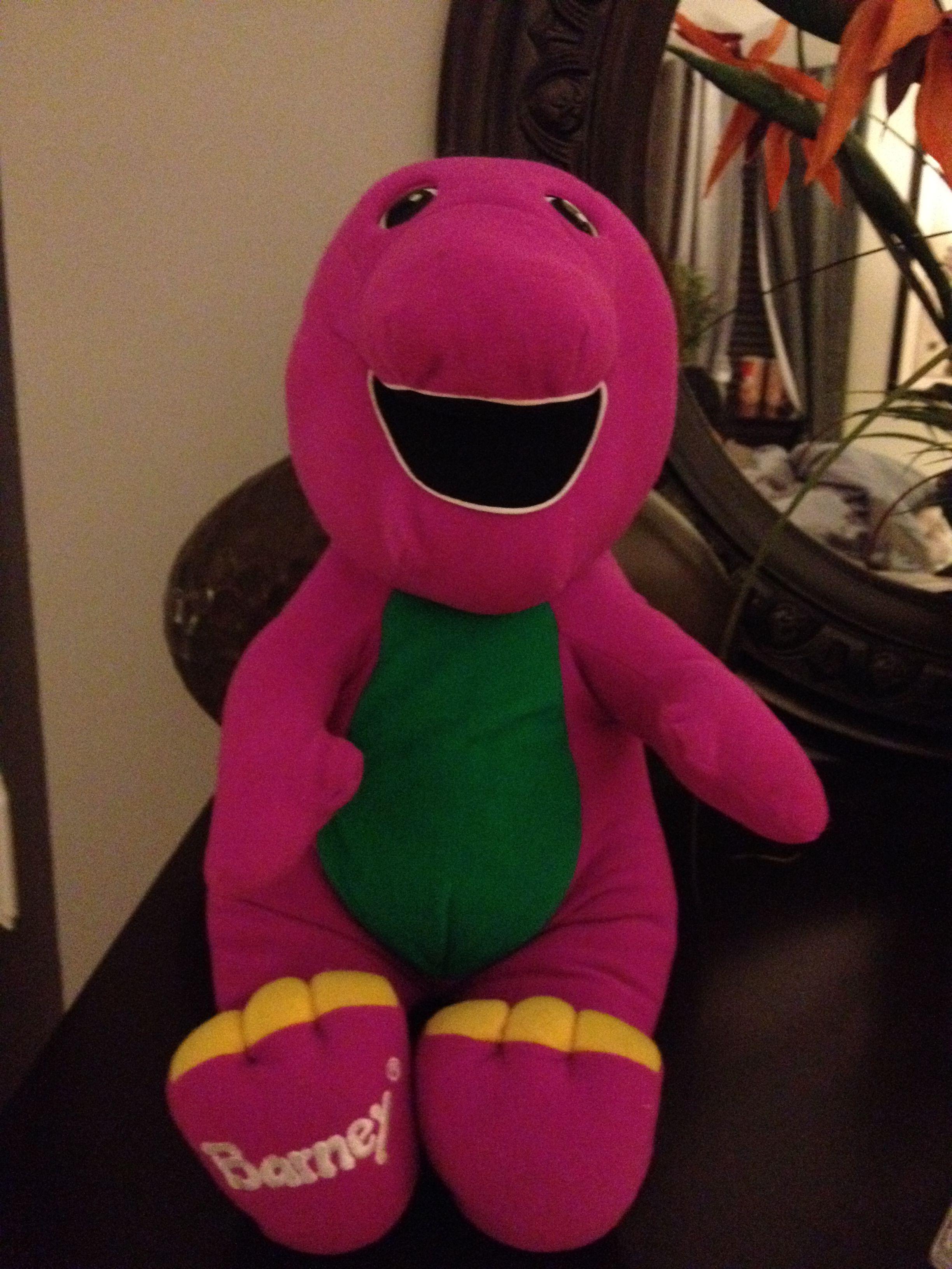 playskool talking barney the dinosaur 17