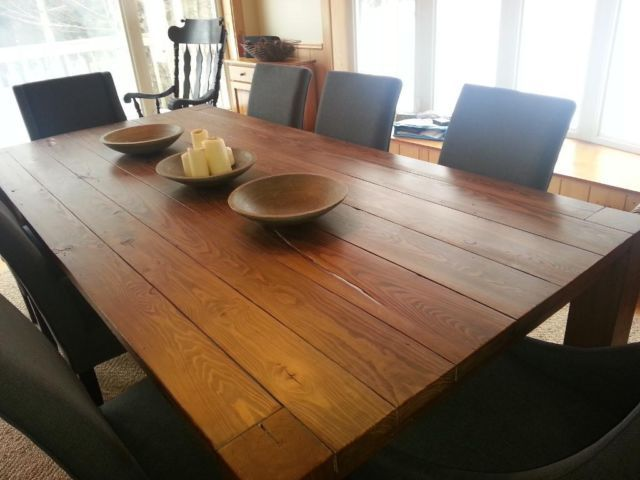 table en bois de grange, plus de 40 modèles disponibles mobilier - modele de salle a manger design