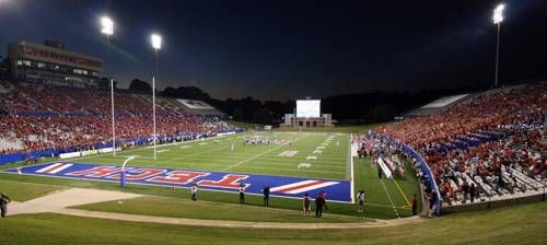 La Tech Bulldogs Joe Aillet Stadium Football Football Stadiums Tech Football Louisiana Tech