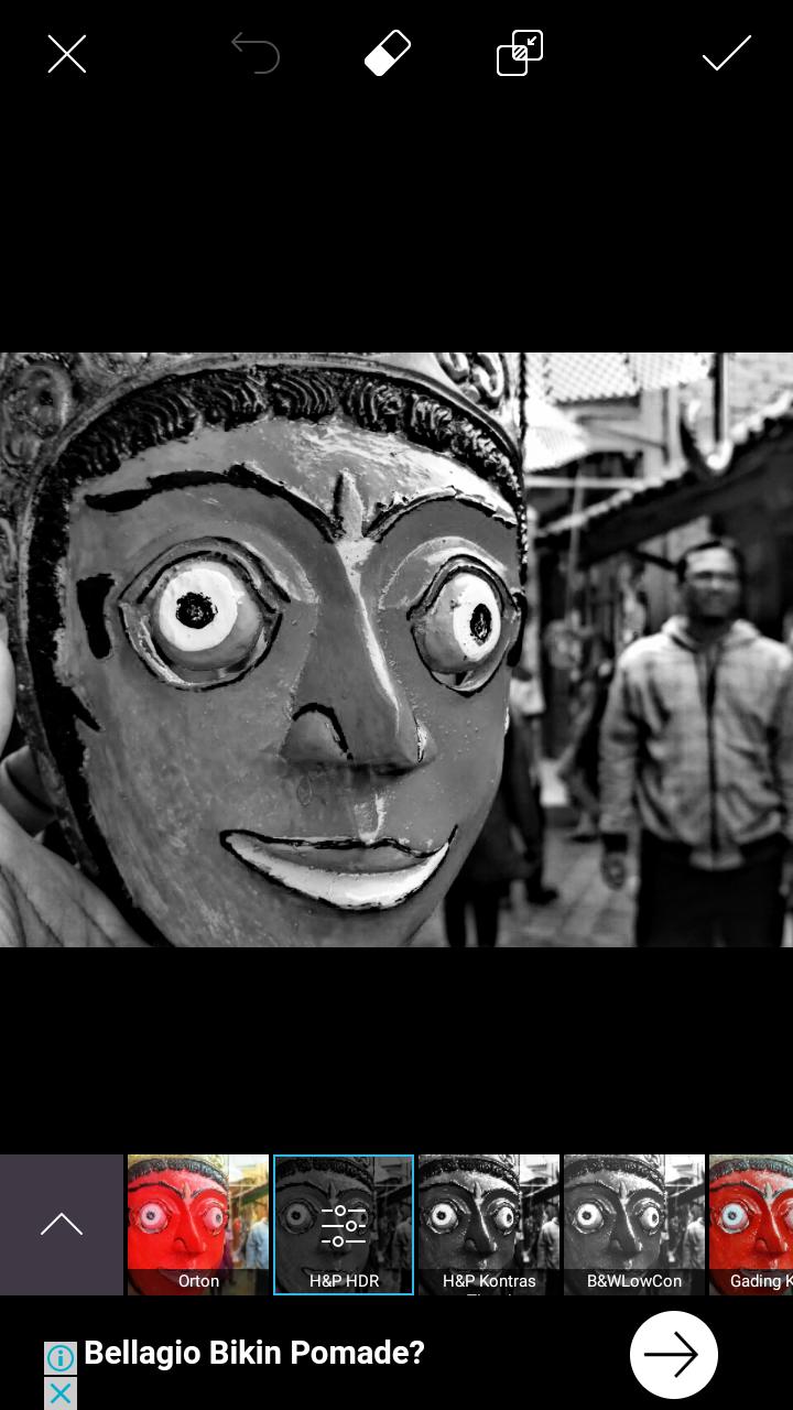 Cara Edit Foto Objek Berwarna Background Hitam Putih ...