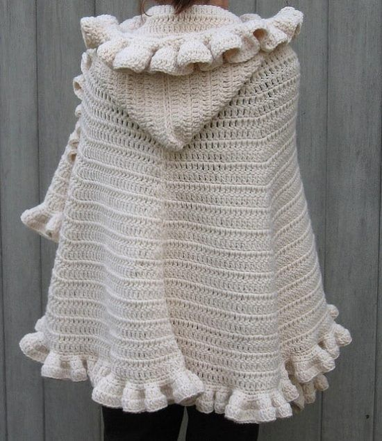 Hooded Cape Crochet Pattern Free You Will Love This Stunner ...
