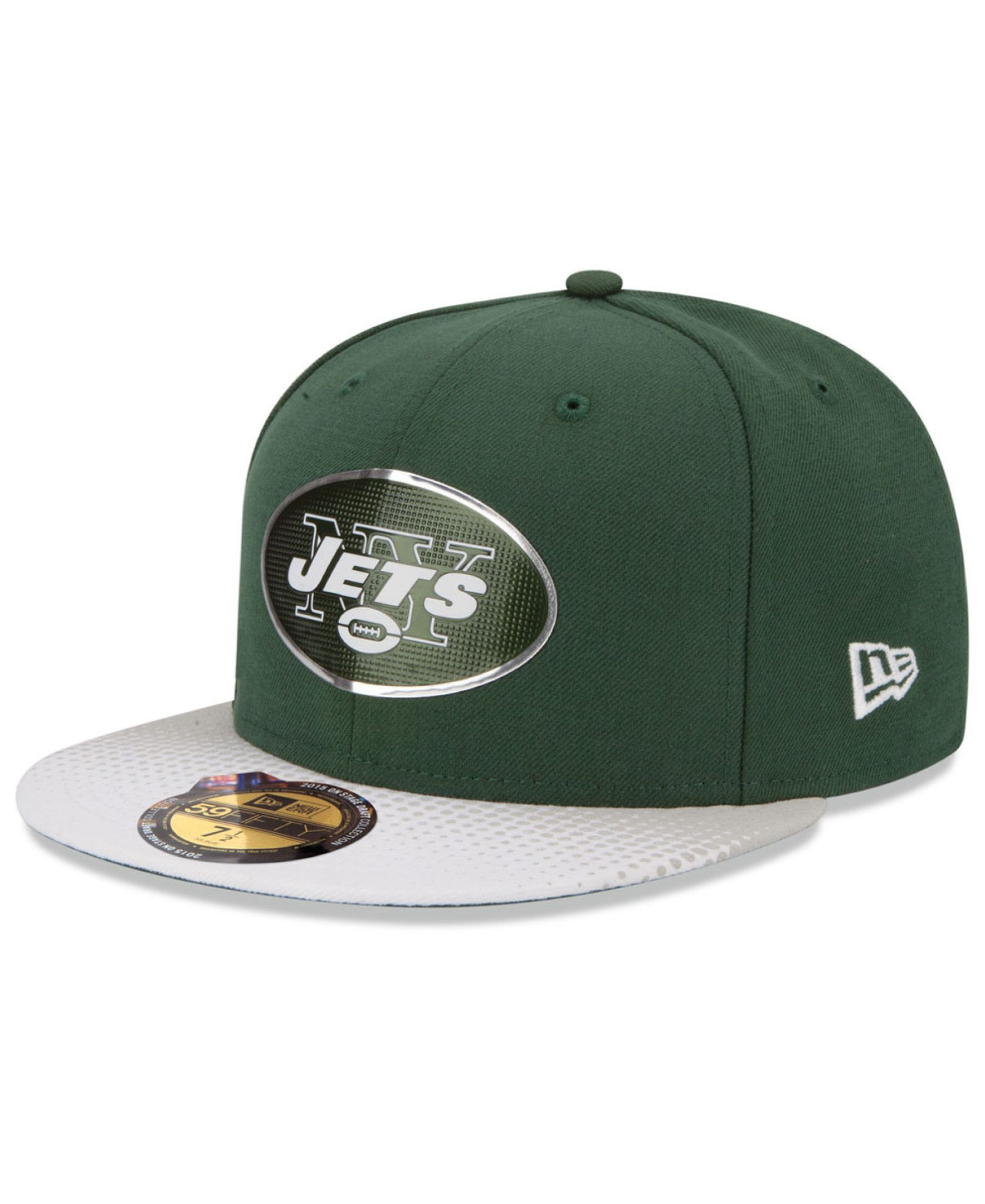New Era Kids  New York Jets 2015 Nfl Draft 59FIFTY Cap  1e19e4e85