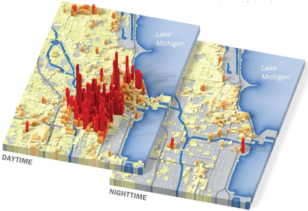 This map of us day vs night city population appeared in time this map of us day vs night city population appeared in time magazine nov 26 2007 issue gumiabroncs Gallery