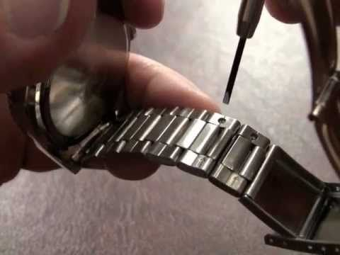 Resize Your Watch Band And Remove Links With Basic Tools