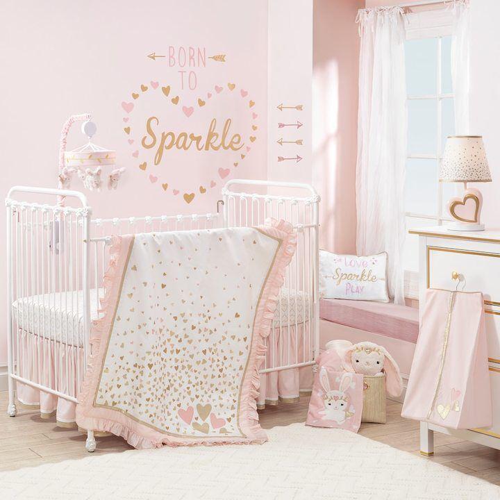 Confetti Crib Bedding Set baby girl nursery