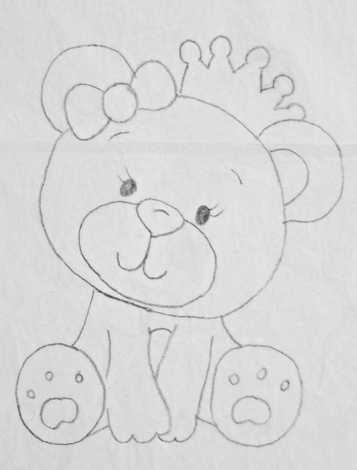 Ursinho Principe Com Imagens Padroes De Animais Modelos De Aplique Pinturas De Ursos