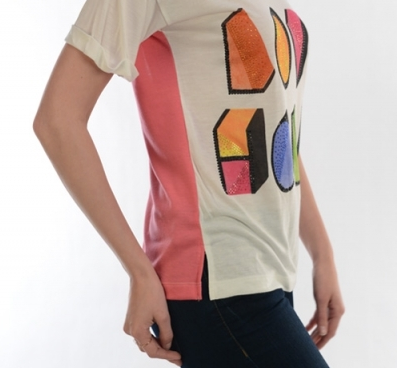 Affordable women's clothing boutique online Nixon and Ila - Love-holic Tee, $25.00