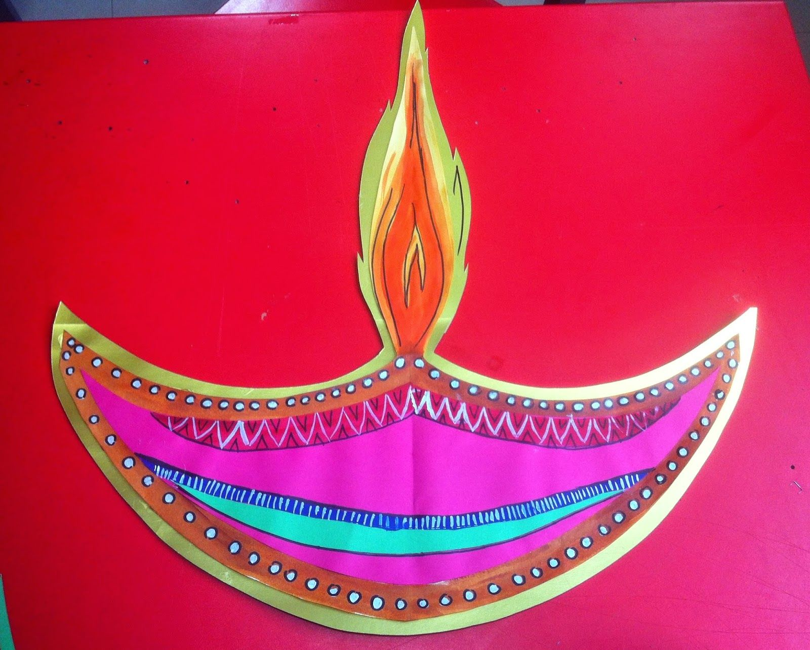 Art Craft Ideas And Bulletin Boards For Elementary Schools Diwali