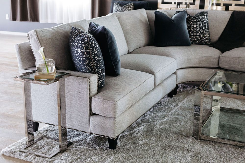 Signature Seating Three Piece Sectional By Bernhardt Bernhardt Furniture Sofa Living Room Remodel Living Room Seating
