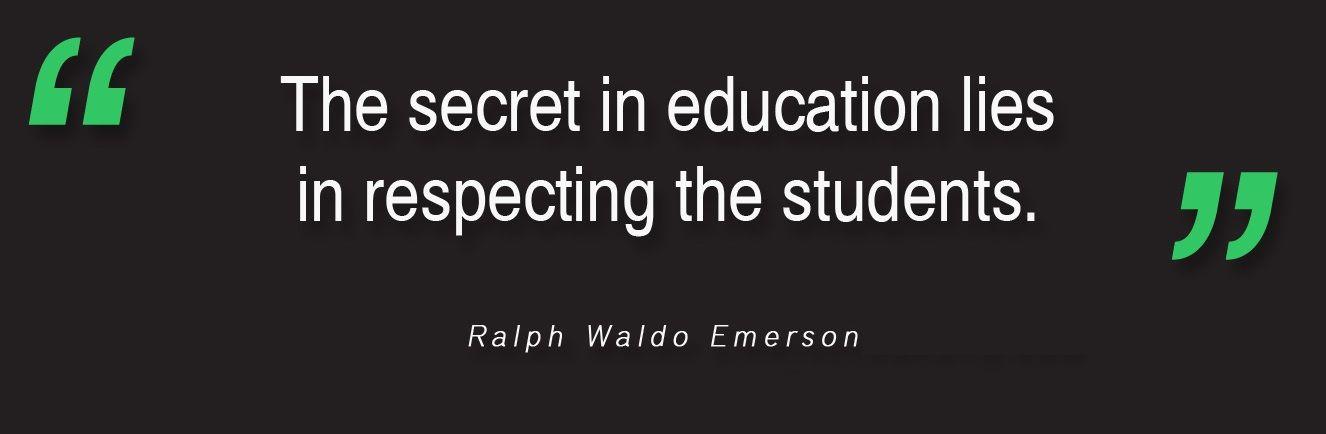 ralph waldo emerson education