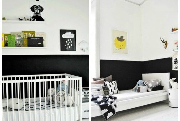 15 HALF PAINTED WALL DECOR IDEAS | Half painted walls ...